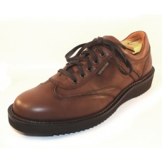 Mephisto Men's Adriano In Chestnut Randy Antiqued Smooth Leather 6178