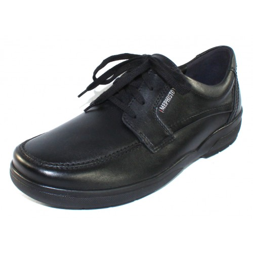 Mephisto Men's Agazio In Black Charles Leather 3800