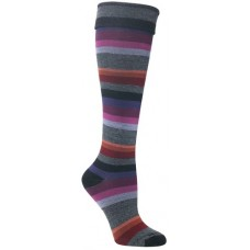 Mephisto Atlanta Knee High Sock In Black - Six Pairs