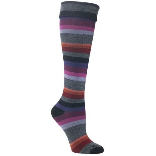 Mephisto Atlanta Knee High Sock In Black - Six Pairs