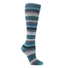 Mephisto Atlanta Knee High Sock In Turquoise - Six Pairs