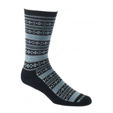 Mephisto Bellevue Crew Sock In Black - Six Pair