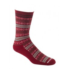 Mephisto Bellevue Crew Sock In Ruby - Six Pair