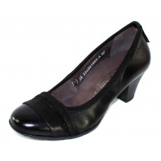 Mephisto Women's Betsy In Black Nappa Leather 8200N