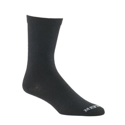 Mephisto Beverly Crew Sock In Black - Six Pair