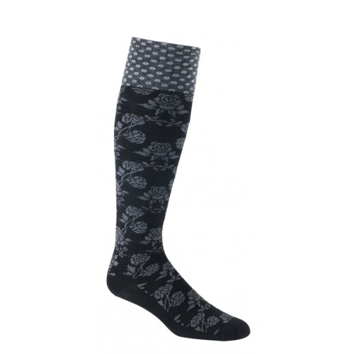 Mephisto Biltmore Knee High Sock In Black - Six Pair