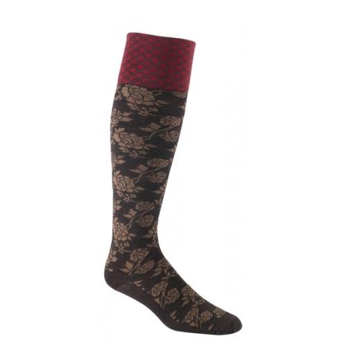 Mephisto Biltmore Knee High Sock In Espresso - Six Pair