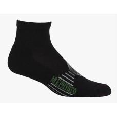 Mephisto Boca Mini Crew Sock In Black