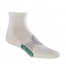 Mephisto Boca Mini Crew Sock In White - Six Pair