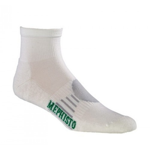 Mephisto Boca Mini Crew Sock In White