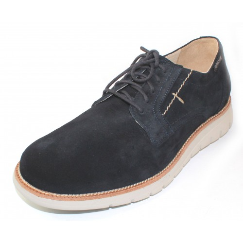 Mephisto Men's Brett In Blue Suede 3655