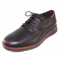 Mephisto Men's Brett In Dark Oak Brooklyn Grain Leather 2446