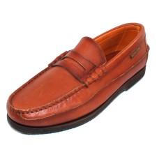 Mephisto Men's Cap Vert In Rust Smooth Leather 4935