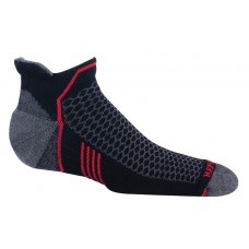 Mephisto Crosstrail Mens Sock In Black - Six Pair