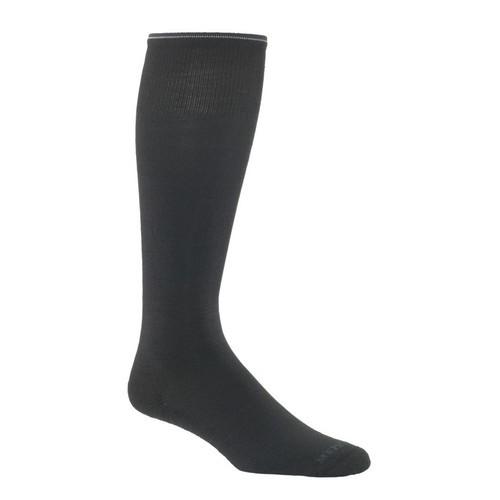 Mephisto Dupont Knee High Sock In Black - Six Pair