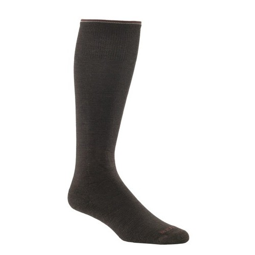 Mephisto Dupont Knee High Sock In Espresso - Six Pair
