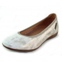 Mephisto Women's Emilie In Light Sand Savana Embossed Suede 912
