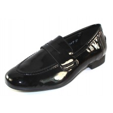 Mephisto Women's Florence In Black Patent Leather 4200