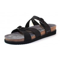Mephisto Women's Hannel In Black Nubuck 6000
