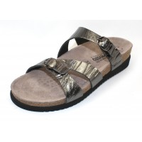 Mephisto Women's Hannel In Grey Etna Pearlized Leather 7103