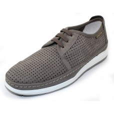 Mephisto Men's Harry Perf In Light Grey Sportbuck 1905