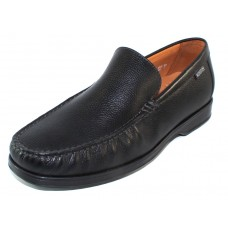 Mephisto Men's Henri In Black Pebble Grain Leather 9100