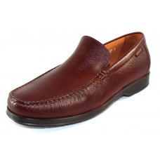 Mephisto Men's Henri In Chestnut Pebble Grain Leather 9178