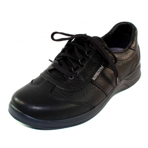 Mephisto Men's Hike In Black Wild Leather 6800