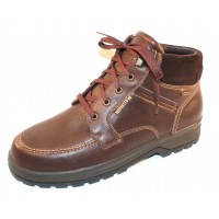 Mephisto Men's Jim Gt In Chestnut Hudson Grain Leather/Suede 13878/3651