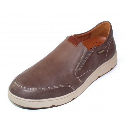 Mephisto Men's Joss In Pewter/Havana Brown Leather 2025/2035