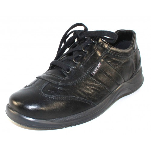 Mephisto Women's Laser In Black Smooth Leather 1200