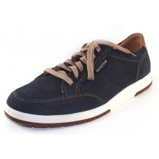 Mephisto Men's Ludo In Navy Sportbuck/Hazelnut Mano 945/3535