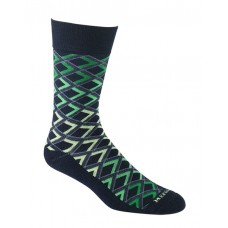 Mephisto Madison Crew Sock In Navy - Six Pair
