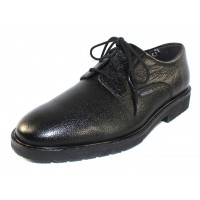 Mephisto Men's Marlon In Black Pebble Grain Leather 9100