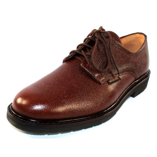 Mephisto Men's Marlon In Chestnut Pebble Grain Leather 9178