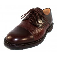Mephisto Men's Melchior In Dark Brown Smooth/Grain Leather