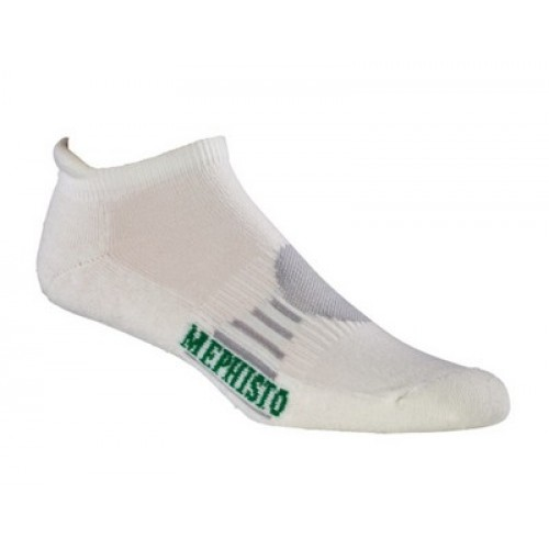 Mephisto Naples No Show Sock In White
