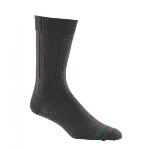Mephisto Newport L/W Dress Sock In Black - Six Pair