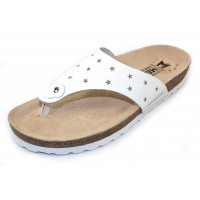 Mephisto Women's Nikie Star In White Patent Leather 1130