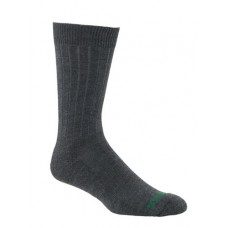 Mephisto Nyc Padded Dress Sock In Charcoal - Six Pair