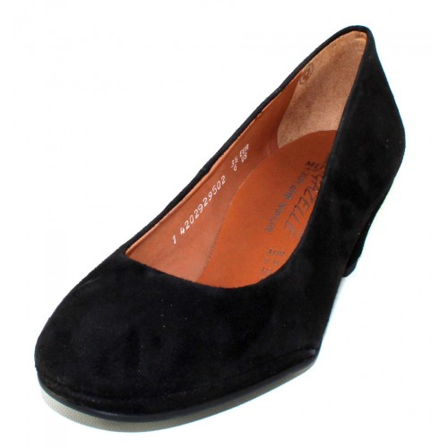 Mephisto Women's Paldi In Black Velcalf Premium Suede 12200