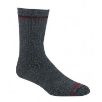 Mephisto Palm Beach Casual Dress Sock In Charcoal - Six Pair