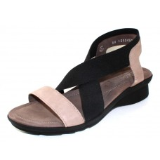 Mephisto Women's Pastora In Warm Grey Bucksoft/Black Elastic 6960