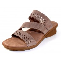Mephisto Women's Prisca In Camel Lizard Printed Leather 2331