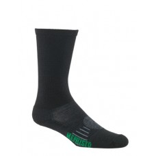 Mephisto Seattle Technical Sock In Black - Six Pair