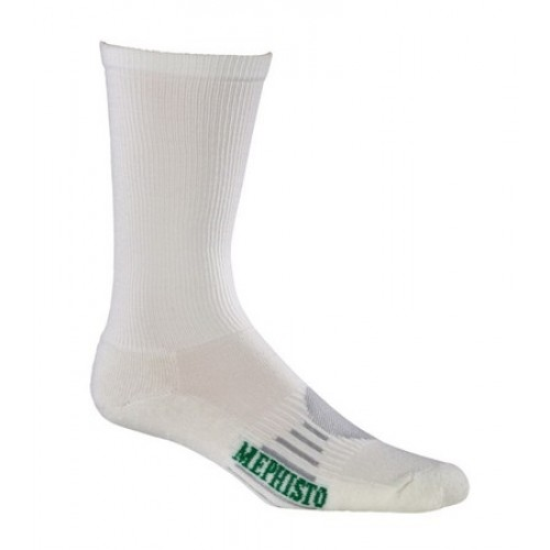 Mephisto Seattle Technical Sock In White - Six Pair