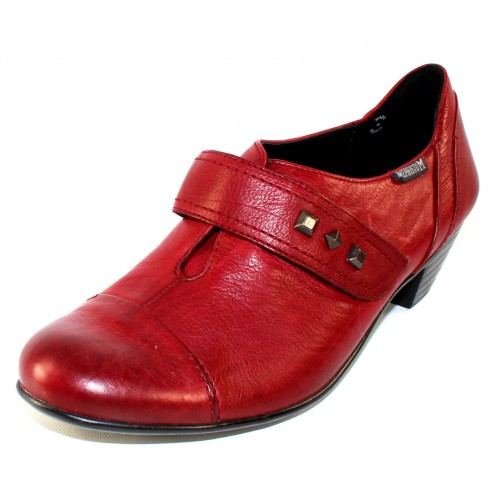 Mephisto Women's Viviane In Oxblood Texas Leather 7988