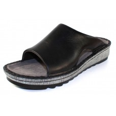 Naot Women's Ardisia In Black Madras Leather