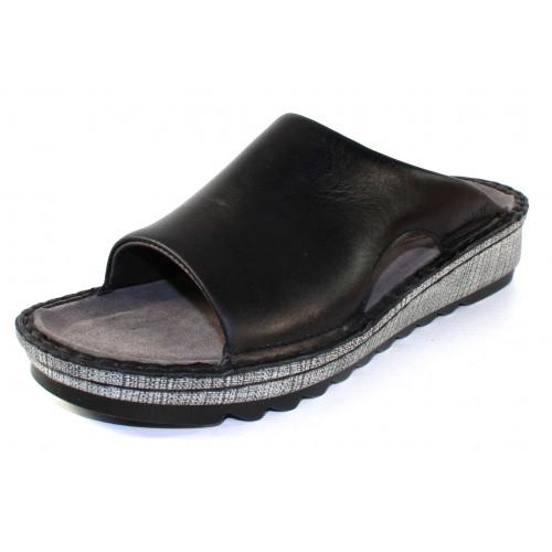 Naot Women's Ardisia In Black Madras Leather