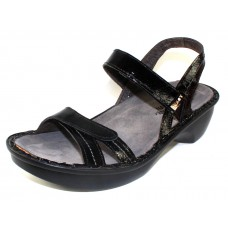 Naot Women's Brussels In Black Lustre Leather